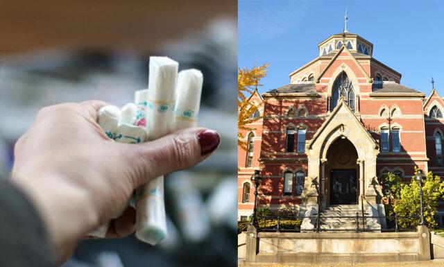 Detta universitet inför gratis tamponger på alla sina skoltoaletter