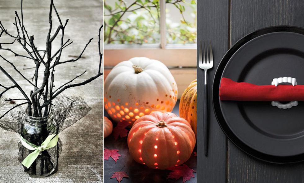 Halloween: 11 enkla tips på effektfulla dekorationer till festen