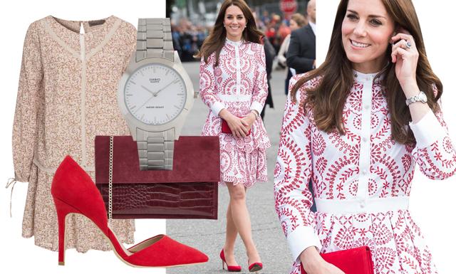 Så fixar du Kate Middletons look till budgetpris