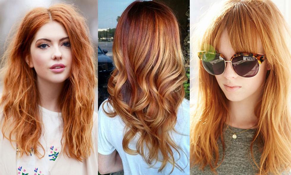 färga håret koppar