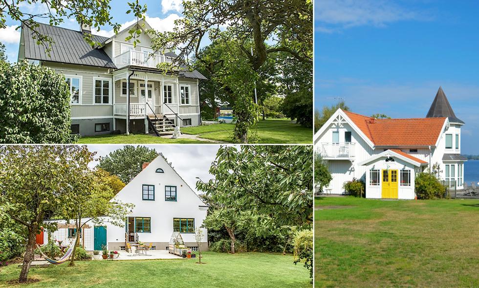 Kolla in drömhemmen – de 3 mest klickade husen på Hemnet just nu!