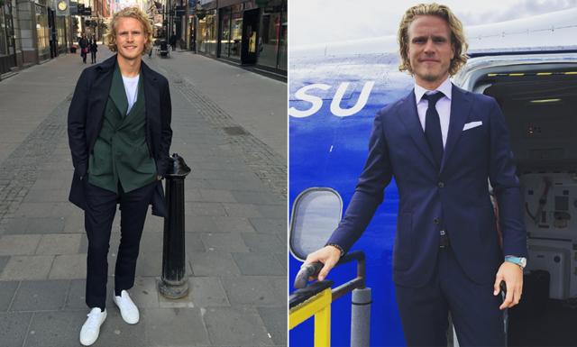 """Oscar Hiljemark: """"Markus Allbäck har alltid hög klass på sina outfits"""""""