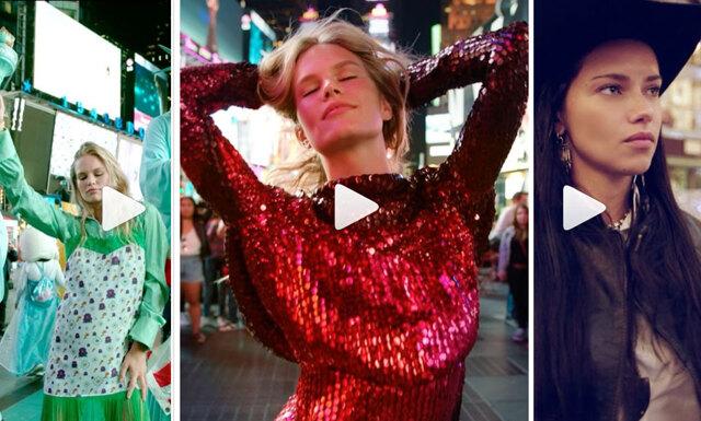 """Kolla in supermodellernas glammiga musikvideo till George Michael's """"Freedom"""""""