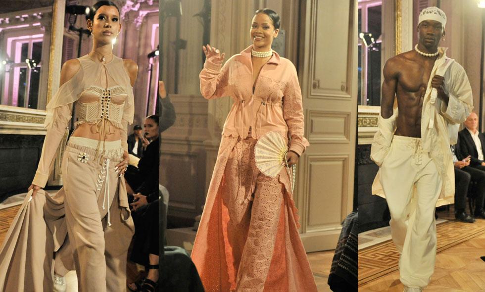 Rihanna tog över modeveckan i Paris med sin visning Fenty x Puma