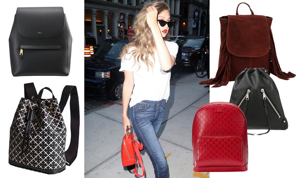 Ryggsäcken – 7 snygga och trendiga modeller som finns i butik nu!