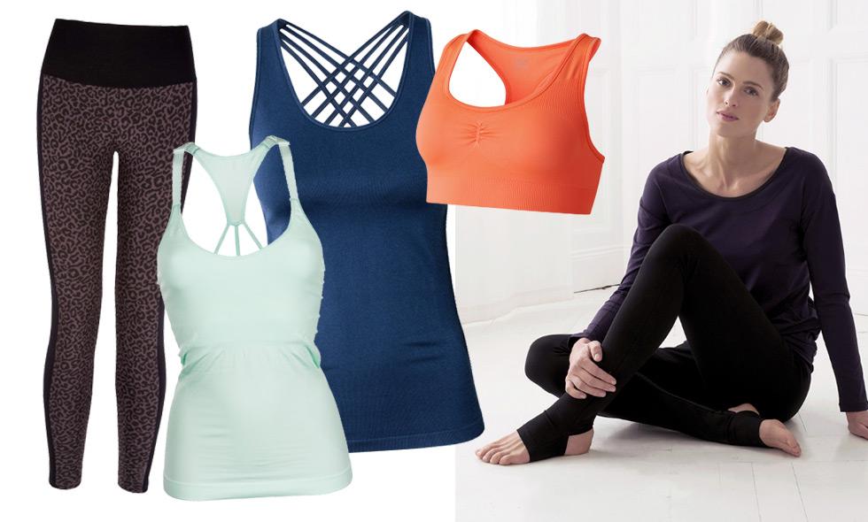 Uppdatera träningsgarderoben med snyggaste och skönaste yogakläderna hösten 2016