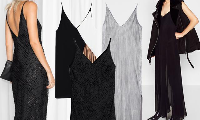8 heta klänningar med smala band – perfekt säsongens alla fester!