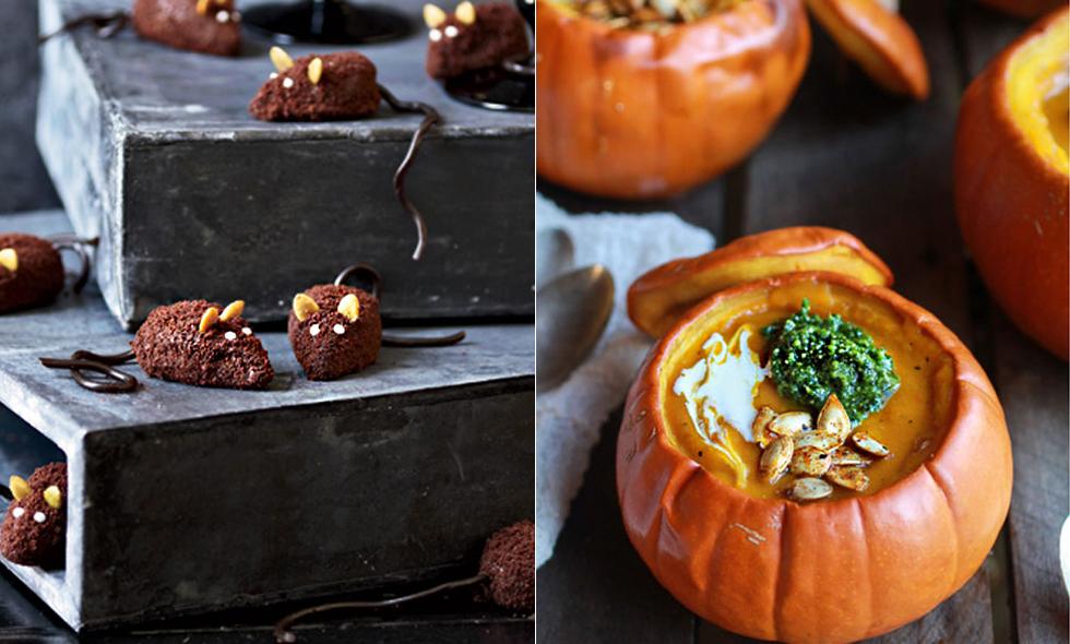 Halloween-recept