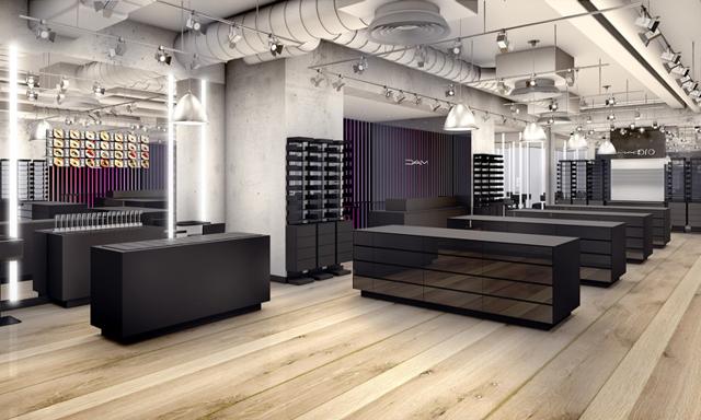 Här öppnar MAC Cosmetics sin första flaggskeppsbutik i Sverige