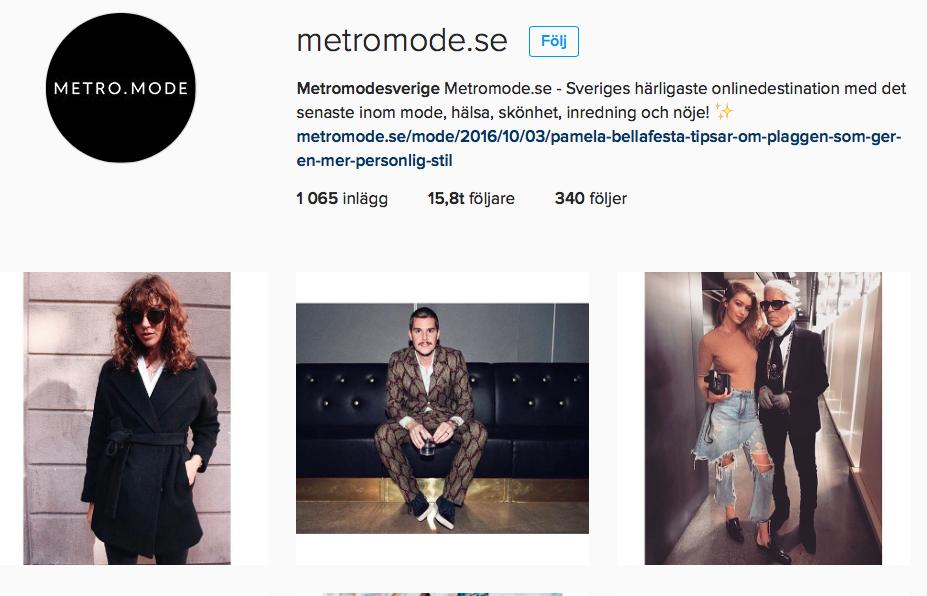 instagram-metromode