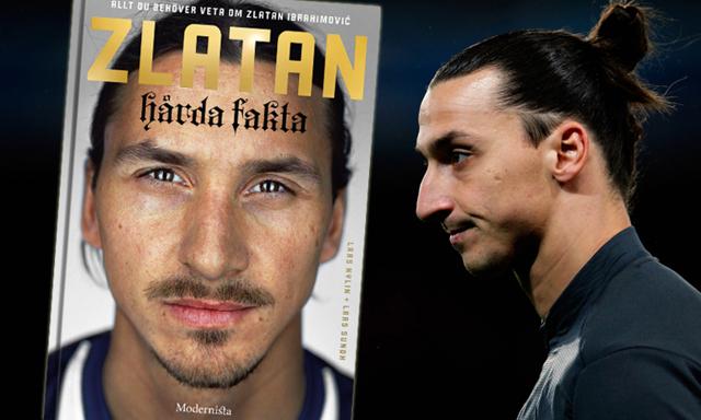 Ny bok om Zlatan –allt du vill veta om svenske fotbollsstjärnan