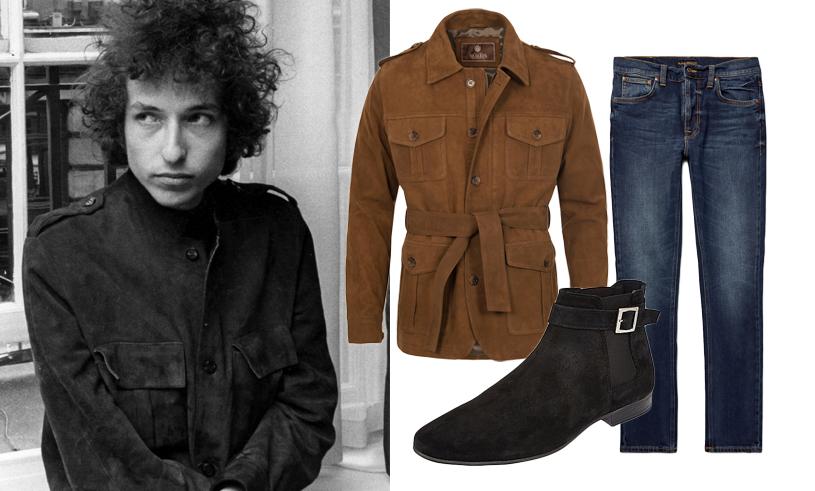 Så snor du Nobelpristagaren Bob Dylans ikoniska klädstil