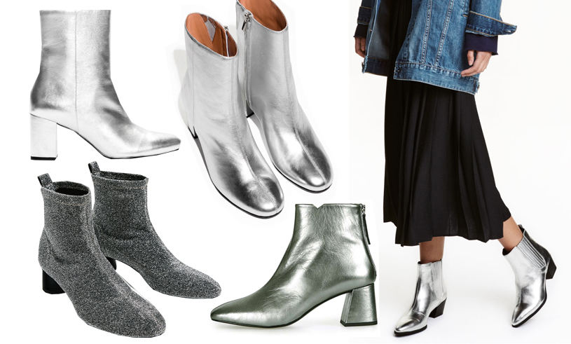Silvriga boots är säsongens hetaste skomodell – vi tipsar om de 7 snyggaste i butik!