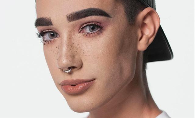 Youtubern James Charles är CoverGirls första manliga modell