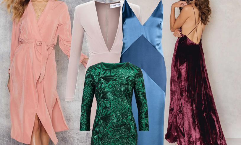 Nyårsklänningar 2016: 7 snygga klänningar i säsongens hetaste färger!