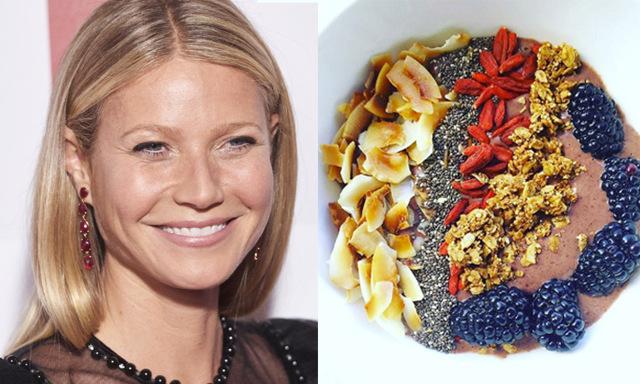 Recept: Det här äter Gwyneth Paltrows till frukost