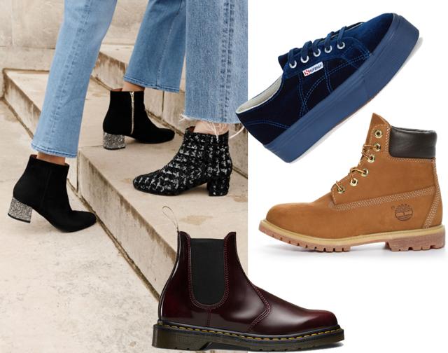 8 skor vi vill trampa in hösten i