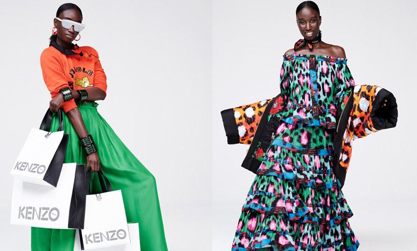 Se ALLA bilder från Kenzo x H&M-kollektionen här!