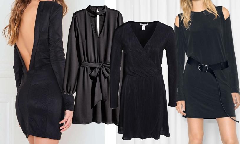 Nyårsklänningar 2016: 9 snygga korta klänningar till nyårsafton