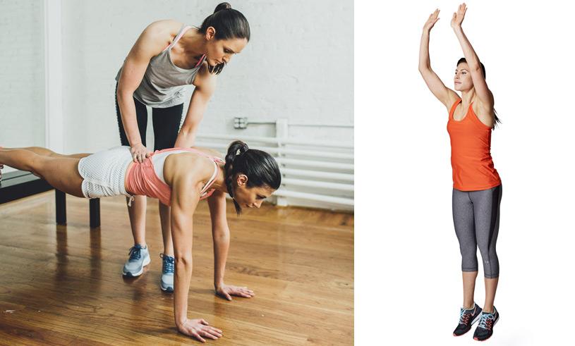 Träna mage och kondition med modellernas träningsprogram