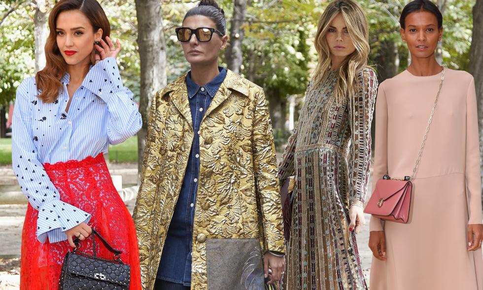 Streetstyle: 18 kvinnor som inspirerat oss under Paris Fashion Week 2016