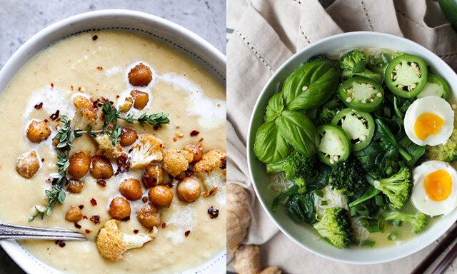 4 magiska och vegetariska soppor för oktobermörkret