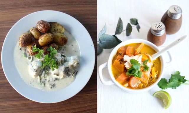 5 nyttiga recept på grytor och gratänger till veckans lunchlådor