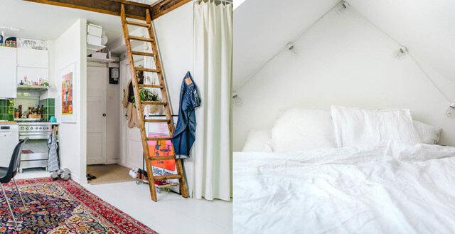 Veckans hem: Compact living med hög mysfaktor