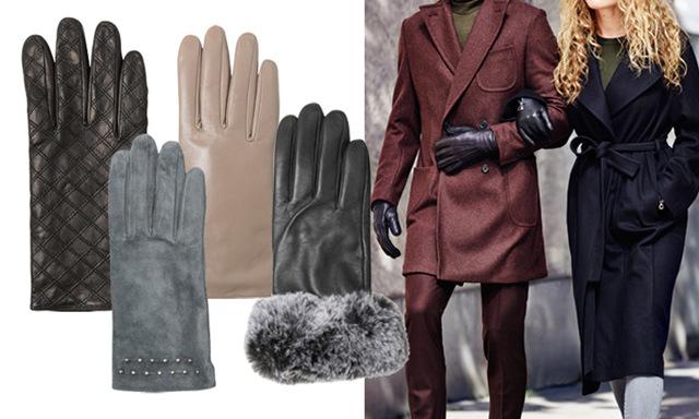 Håll dig varm med vinterns 8 snyggaste handskar