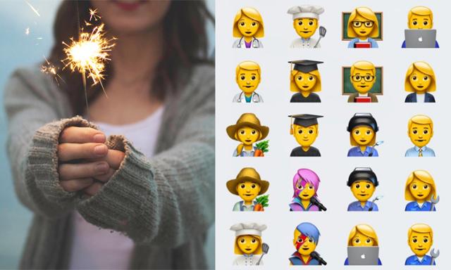 Då landar dessa nya (genialiska) emojis i mobilen med nya uppdateringen