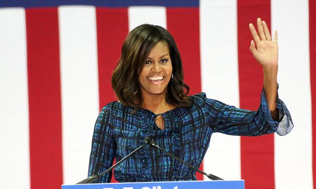 Michelle Obamas efterlängtade svar på om hon blir president 2020...!