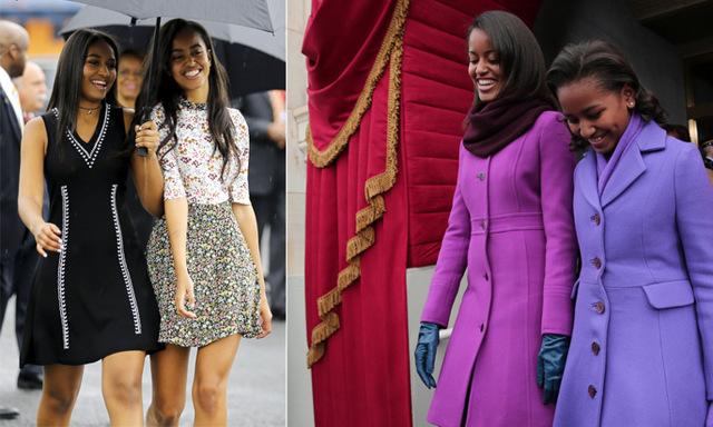 Sasha och Malia Obamas snyggaste outfits från 2008 till i dag