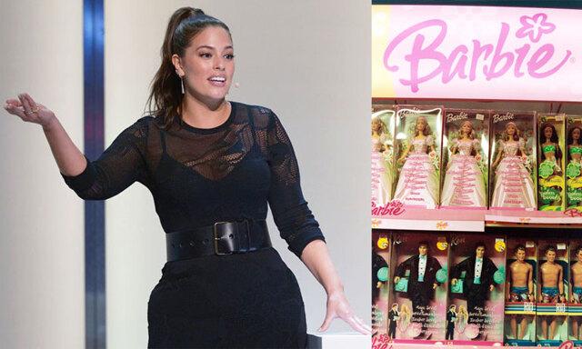 Ashley Grahams egendesignade barbiedocka bryter normer