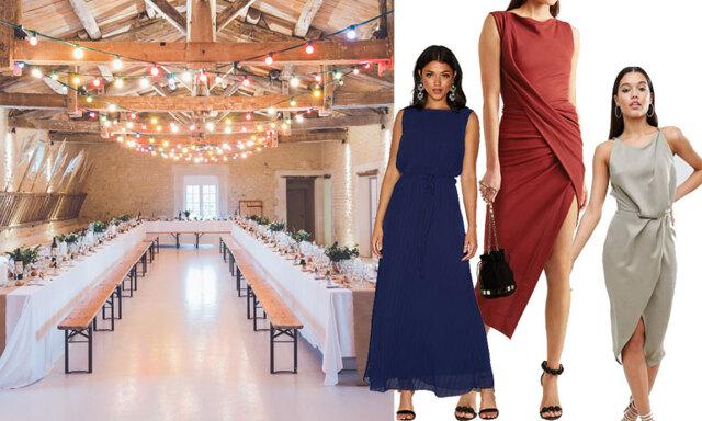 10 finklänningar att bära på vinterbröllop