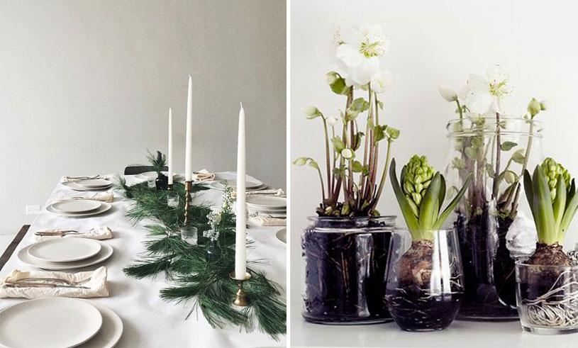 Klassiskt, minimalistiskt och metalliskt – så inreder bloggarna i jul