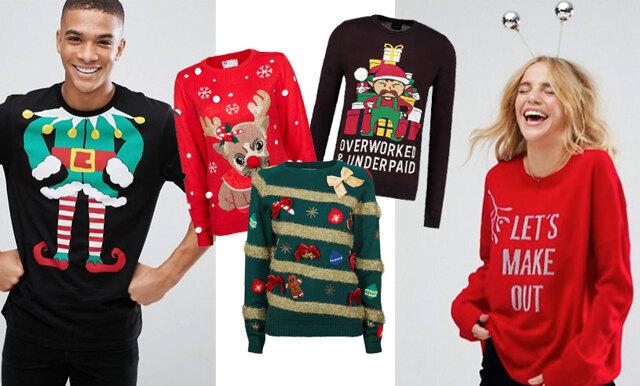 Fula och roliga jultröjor för honom och henne – 14 alternativ du kan klicka hem redan nu!