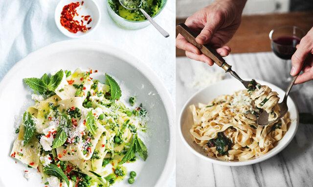 5 vegetariska urgoda pastarecept