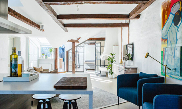Veckans hem: Spana in succérenoveringen i lägenheten på Norrmalm