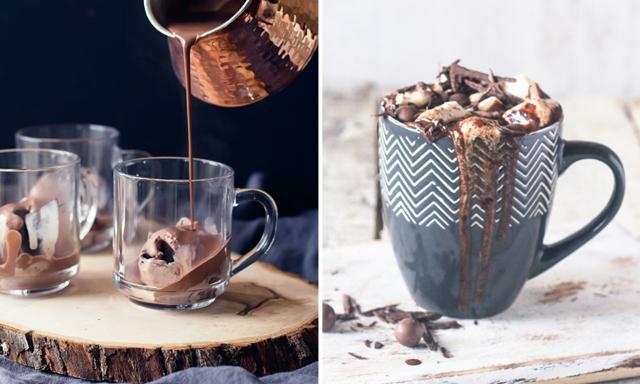 Gott och värmande! 12 lyxiga recept på varm choklad