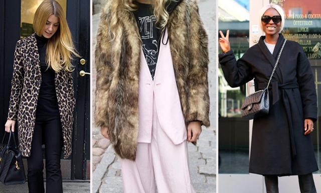 Veckans trendkoll: Så här klär sig modeprofilerna i vinter