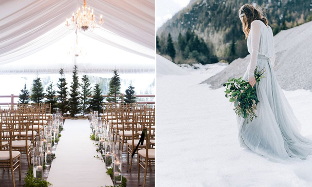 13 magiska anledningar till att vi vill ha ett vinterbröllop