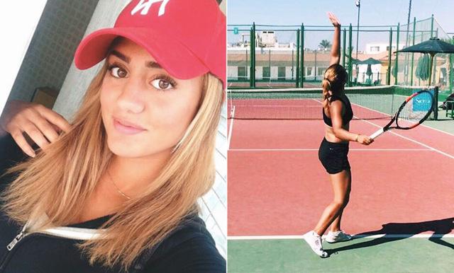 Så äter och tränar vårt svenska tennishopp Julita Saner