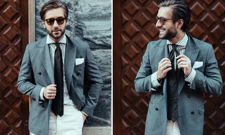 Köp breda slipsar