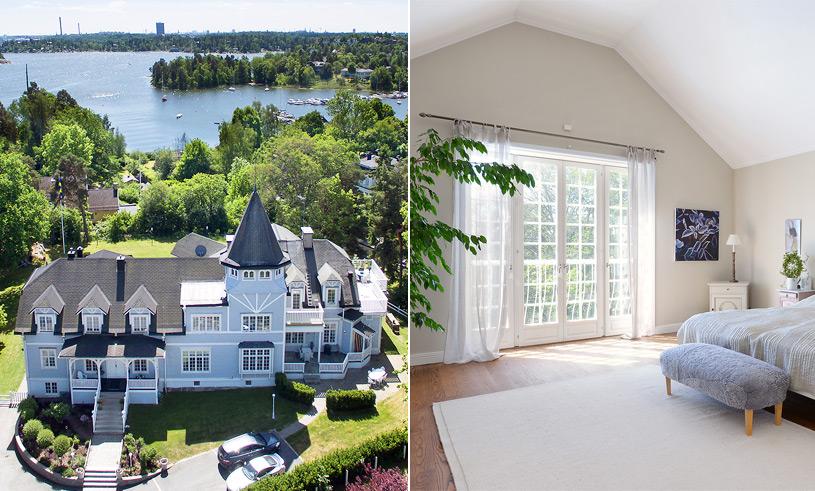 Veckans hem: Sveriges just nu dyraste villa är ett slott i sekelskiftesstil