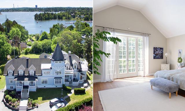 Följ med på en rundtur i Sveriges just nu dyraste villa