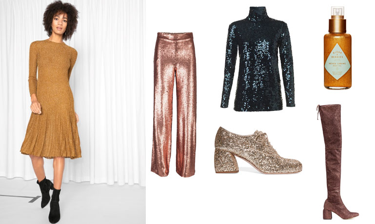 Möt nyårsnatten i glitter – Pamela Bellafesta listar 17  köp