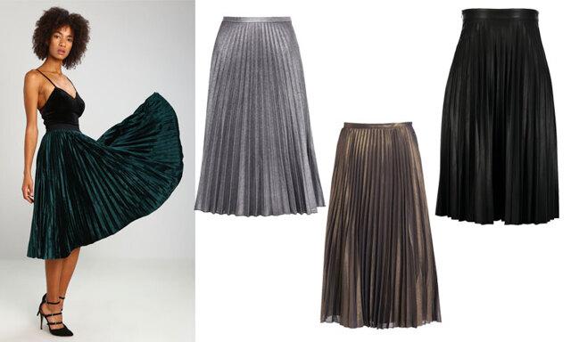 Årets modejultrend - den plisserade kjolen!
