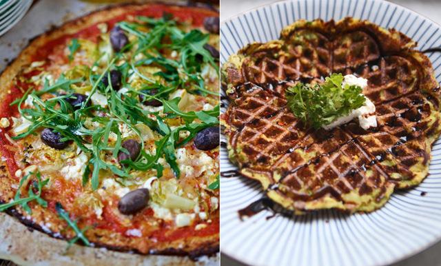 3 nyttiga recept på bakismat: Pizza, pannkakor och våfflor