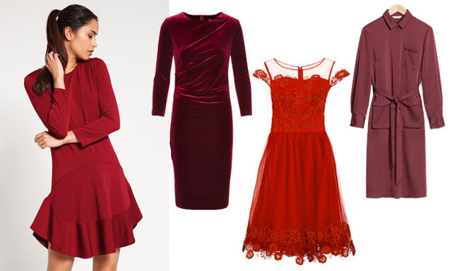 Metro Mode listar vinterns 15 snyggaste röda klänningar