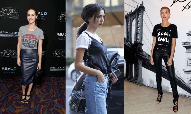 Metro Mode listar 9 snygga sätt att bära din t-shirt till fest